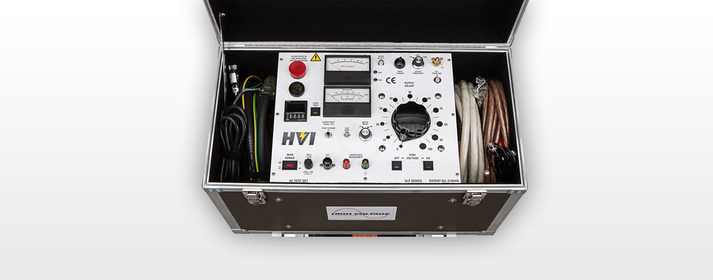 VLF40 und VLF60 - VLF-Prüfgerätserie